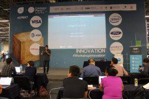 Daniel Vega en el workshop de IA por Ebam